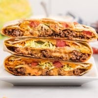 Crunchwrap Supreme (Taco Bell Copycat)