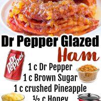 Dr Pepper Glazed Ham