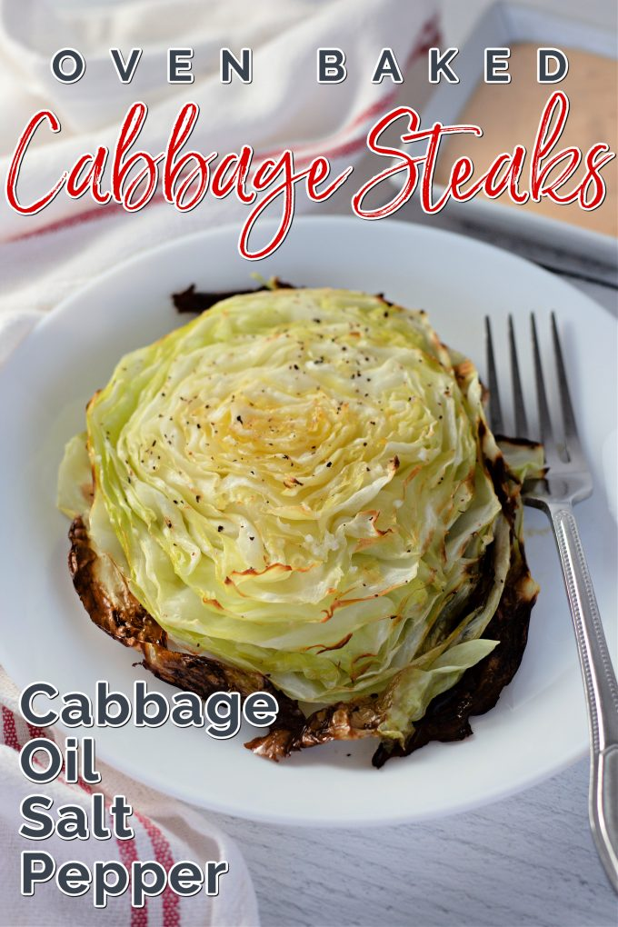 Oven Baked Cabbage Steaks on Pinterest.