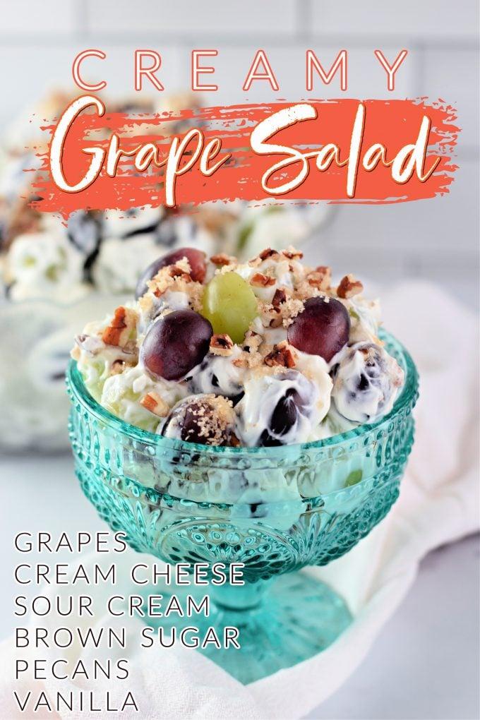 Creamy Grape Salad on Pinterest.