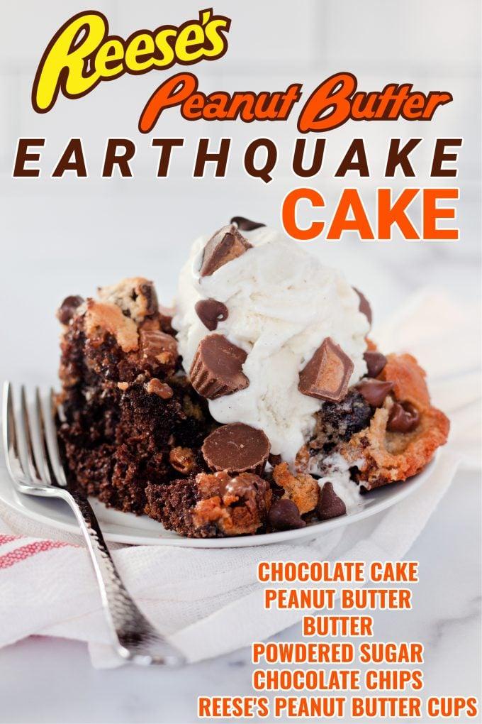 Reese's Peanut Butter Earthquake Cake on Pinterest.