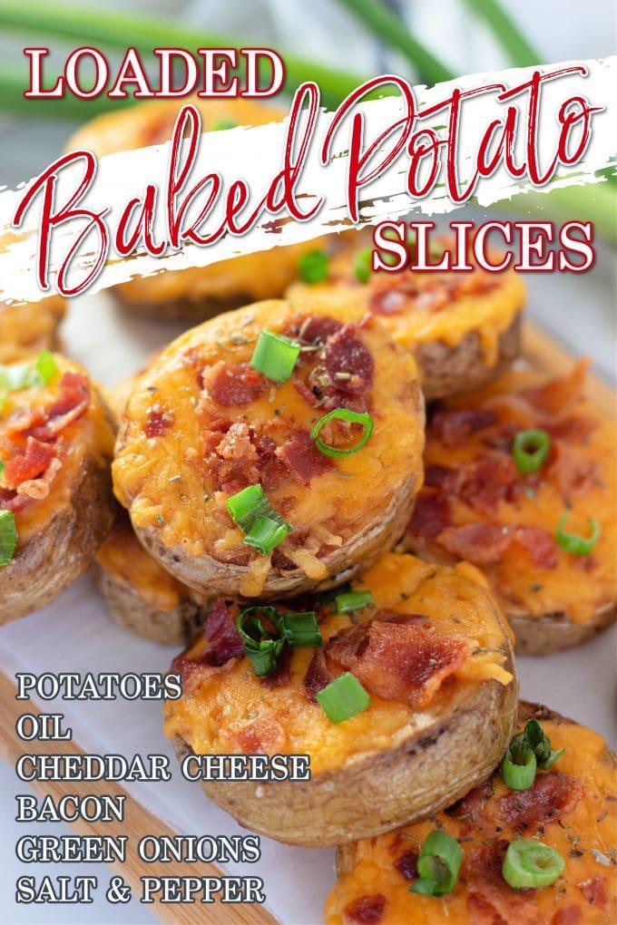 Loaded Sliced Baked Potatoes on Pinterest.