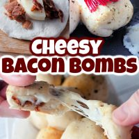 Cheesy Bacon Bombs
