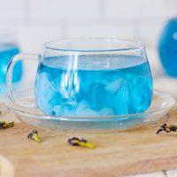 Butterfly Pea Tea Latte