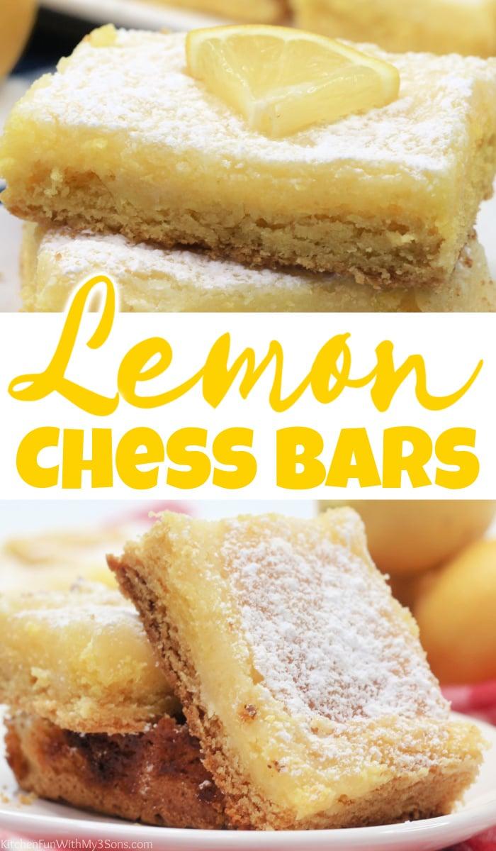 Lemon Chess Bars