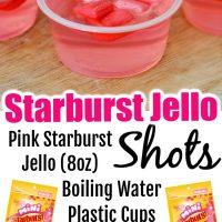 Starburst Jello Shots
