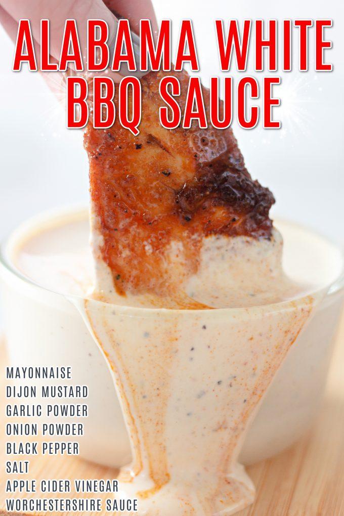 Alabama White BBQ Sauce on Pinterest.