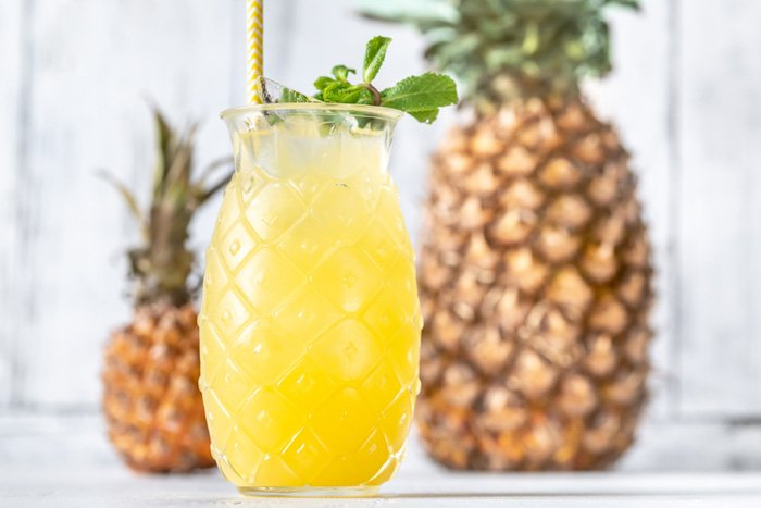 Easy Pineapple Wine Punch