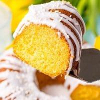 7UP Pound Cake (5-ingredients)