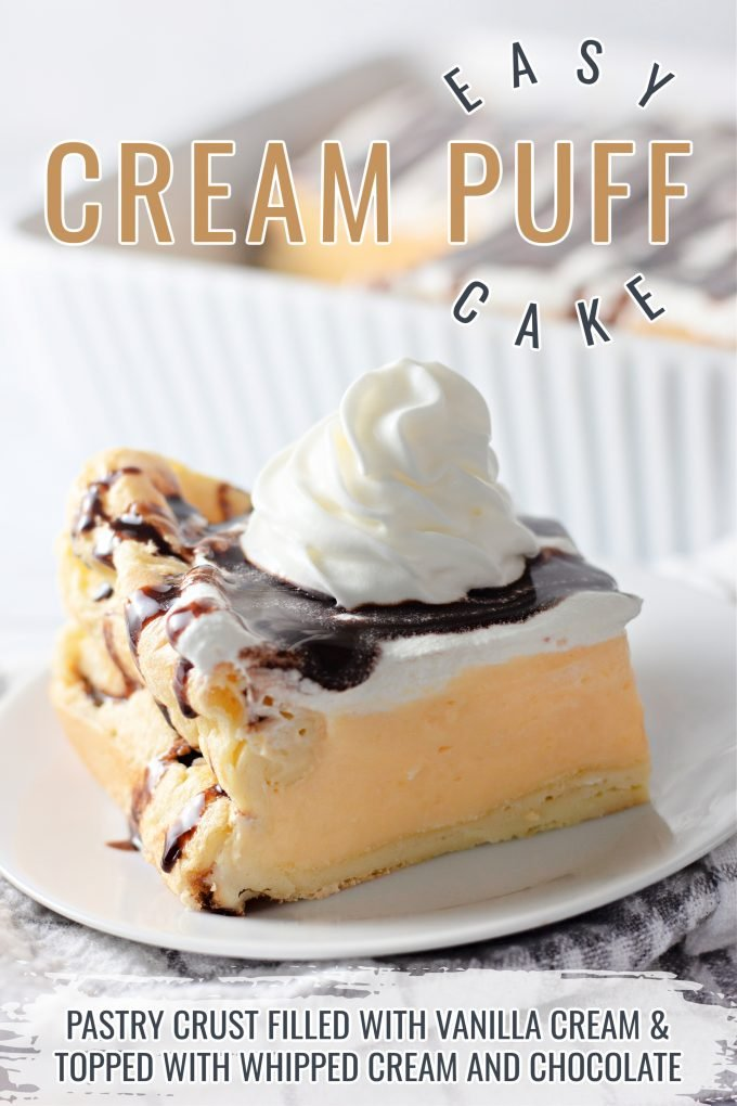 Cream Puff Cake on Pinterest