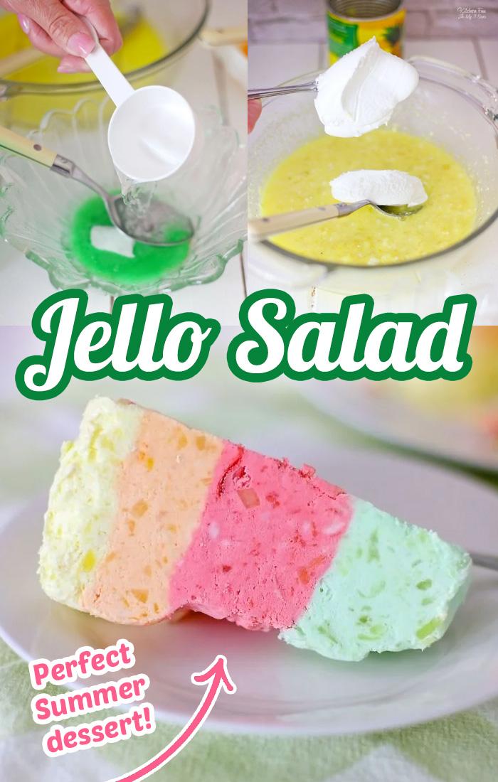Layered Jello Salad