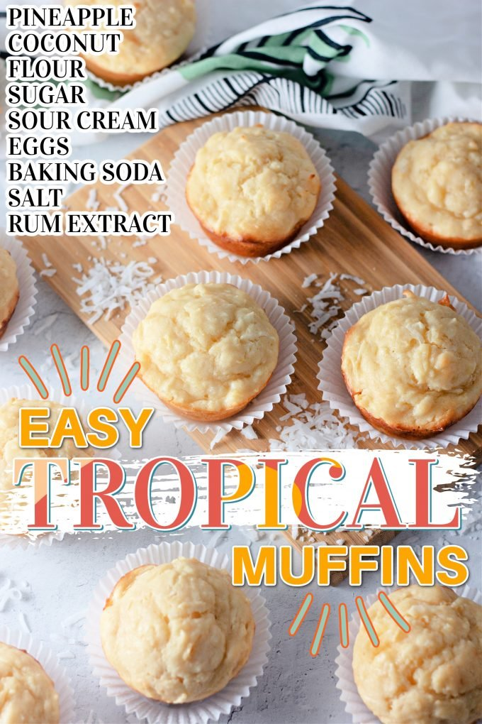 Tropical Muffins on Pinterest.