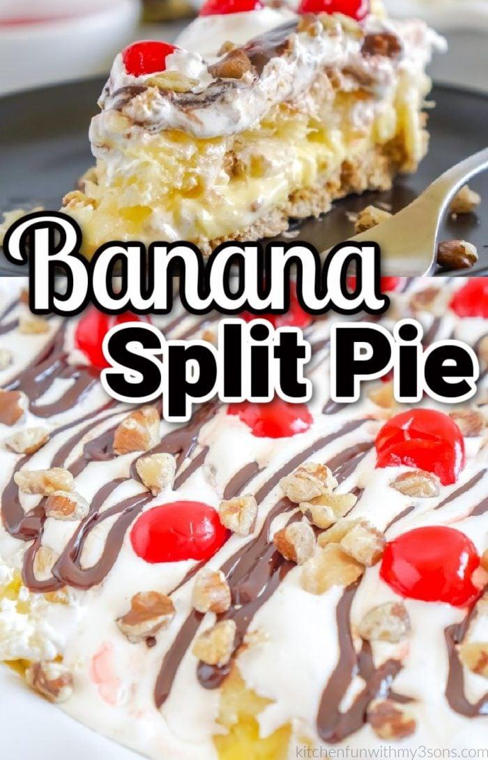 banana split pie pin