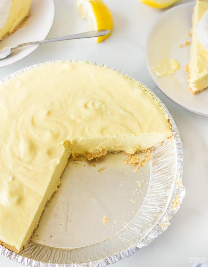 No-Bake Lemonade Pie