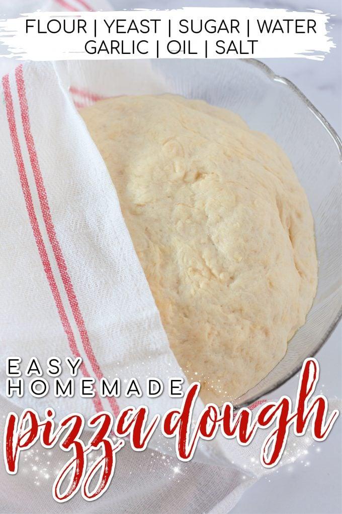 Homemade Pizza Dough on Pinterest.