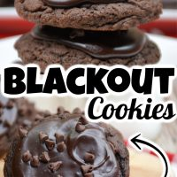 Blackout Cookies