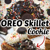 Oreo Skillet Cookie