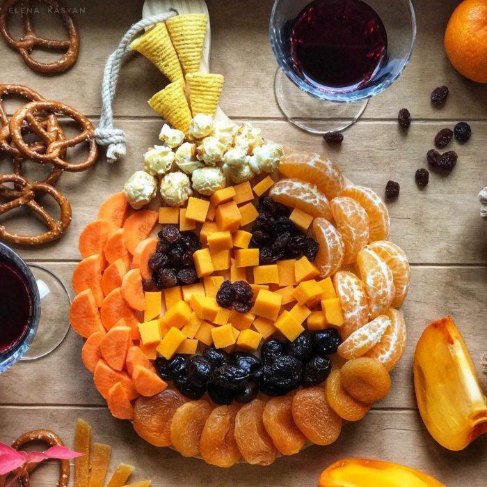 Pumpkin Snack Tray