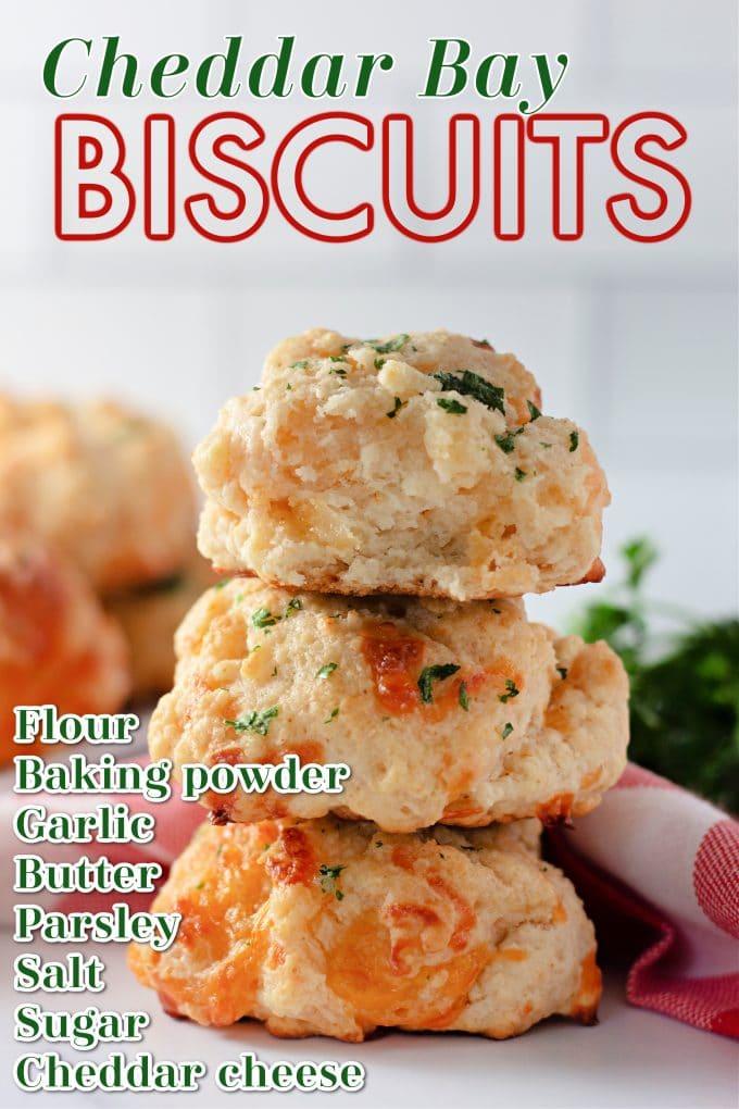 Cheddar Bay Biscuits on Pinterest.