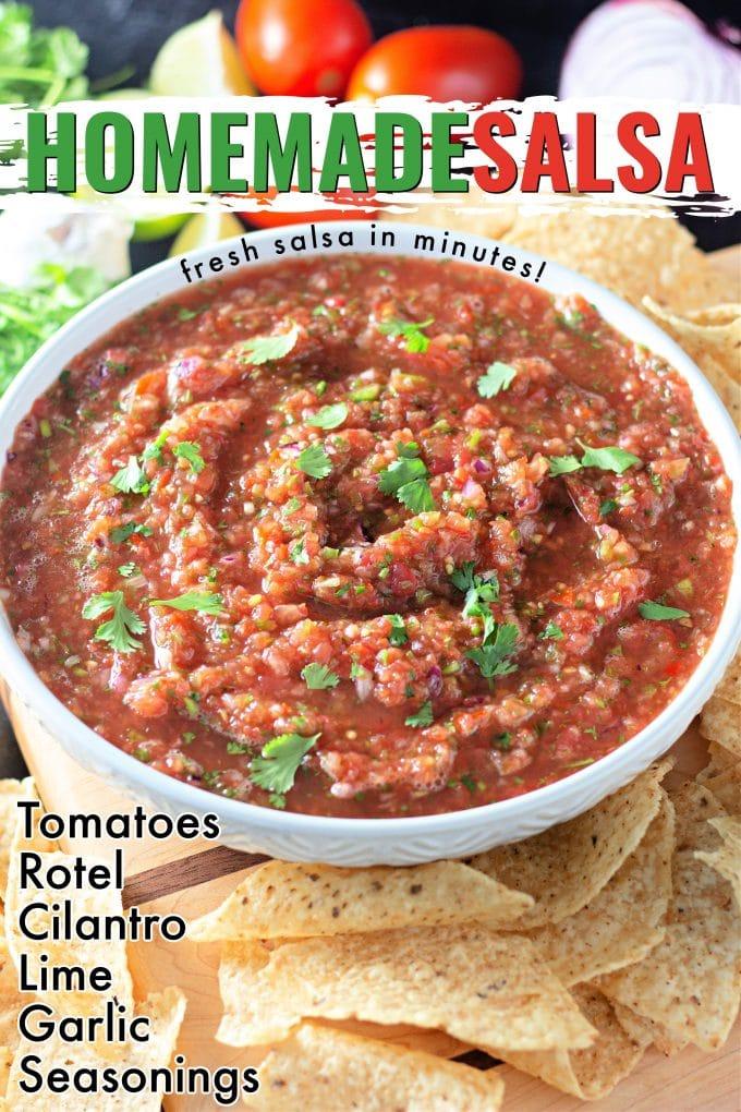 Homemade Salsa on Pinterest.