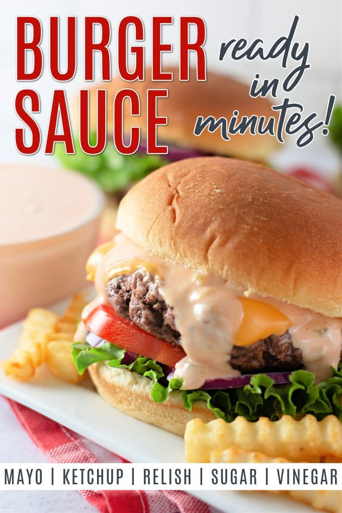 Burger Sauce on Pinterest.