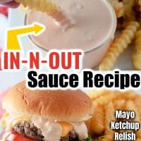 IN-N-OUT Burger Sauce Recipe
