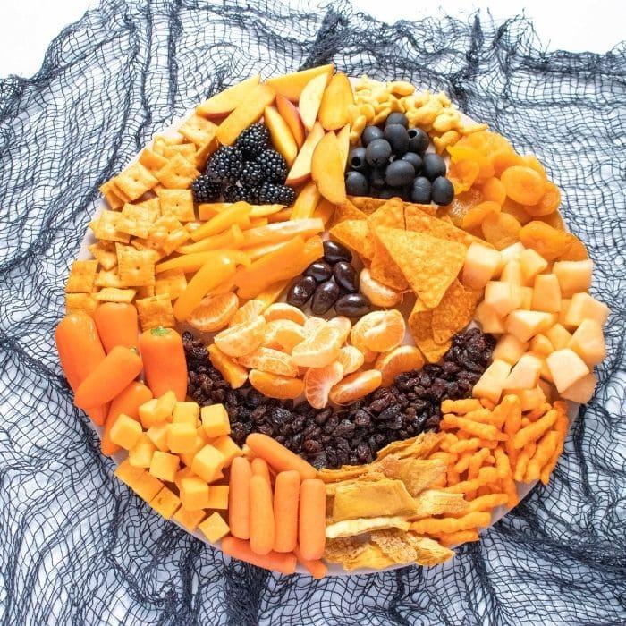 pumpkin snack board