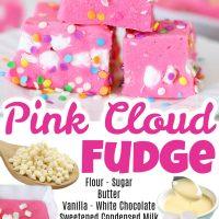 Pink Cloud Fudge