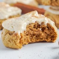 Pumpkin Cookies with Cake Mix