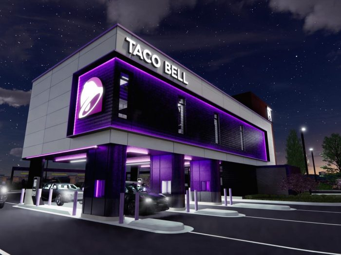 taco bell two story