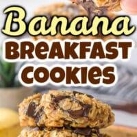 Banana Breakfast Cookies Pinterest