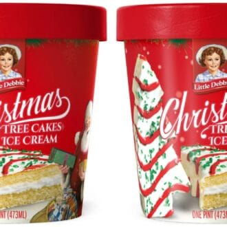 Little Debbie Christmas Tree Cake Ice Cream
